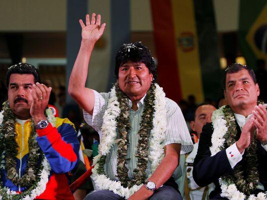President Morales of Bolivia