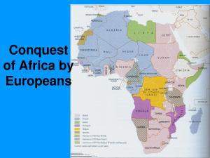 africa conquered