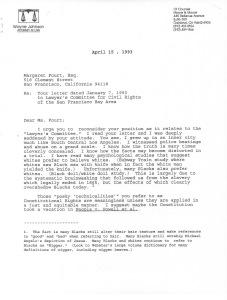 rodney king letter